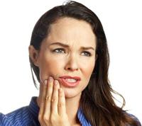 разрушился зуб
