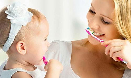 Гигиеническая чистка зубов детская стоматология
