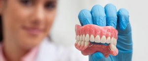 Съемные зубные протезы